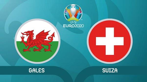Ver en directo y online el Gales - Suiza