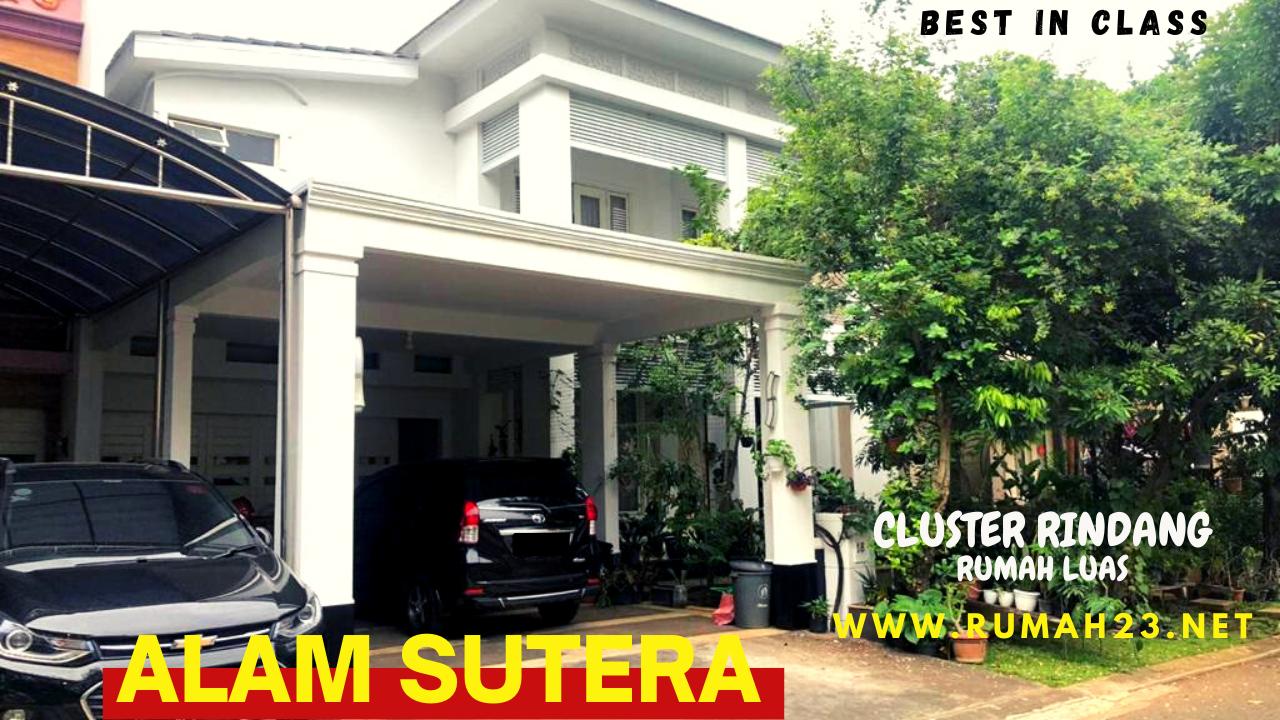 Rumah Mewah Sutera Palma - Alam Sutera Tangerang