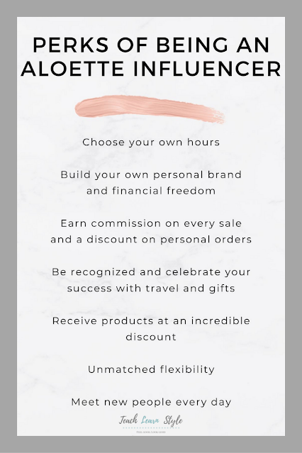 how to become an aloette consultant, cost to join Aloette, Aloette starter kit 2021, aloette influencer, aloette influencer perks