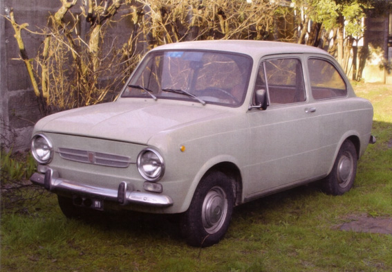 The Slowest Car In The World: The Open Track: SLOWEST CAR IN THE WORLD: 1968 Fiat 850