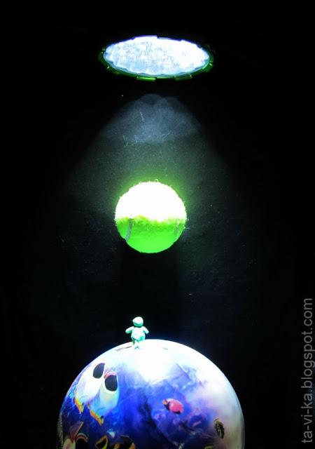 Почему Луну видно днем. Новолуние