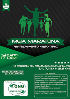 Vem aí a 11ª corrida da cidadania em Baraúna