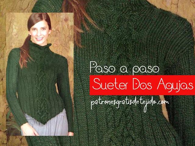 patrones-suéter-mujer-dos-agujas