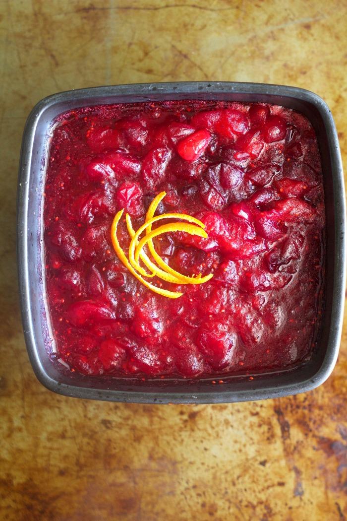 Negroni Cranberry Sauce - Savoring Italy