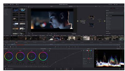 Aplikasi edit video terbaru 2017 Davinci Resolve 12