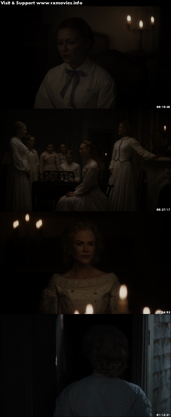 The Beguiled 2017 English 480p WEB-DL 300MB ESubs