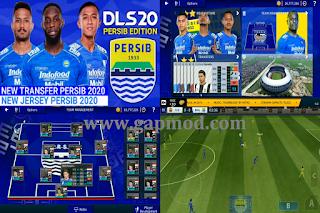 DLS Mod Persib Bandung Shopee Liga 1 Indonesia 2020 By Gila Game