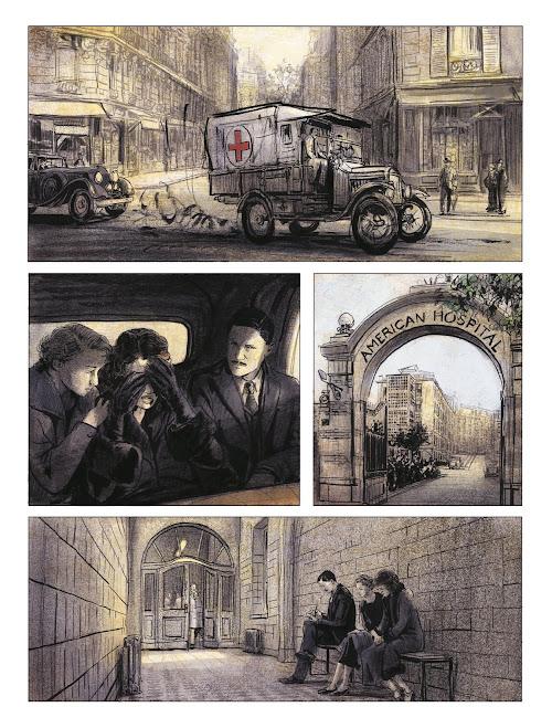 Couleurs de l'incendie de Pierre Lemaitre et Christian De Metter aux éditions Rue de Sèvres page 13