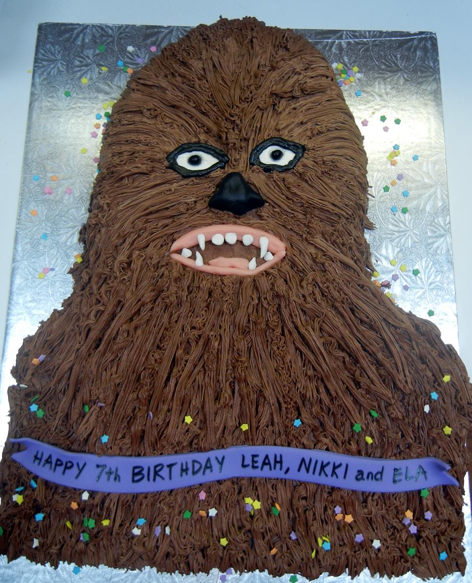 Chocolate Chewbacca Www Dunmorecandykitchen Com: Ronna's Blog: Chewbacca Cake