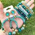 Earrings and bracelets sets