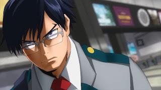 ヒロアカ 飯田天哉 職場体験 | IIDA TENYA | インゲニウム Ingenium | 僕のヒーローアカデミア アニメ | My Hero Academia | Hello Anime !