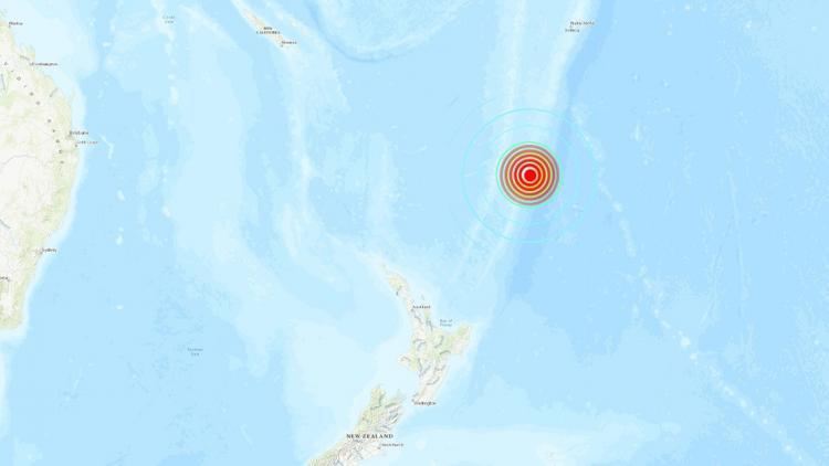 Alerta de Tsunami en Nueva Zelanda (Hoy Jueves 4 Marzo 2021) Terremoto de Magnitud 7