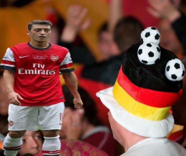 ندم في ألمانيا بعد اعتزال اللاعب أوزيل