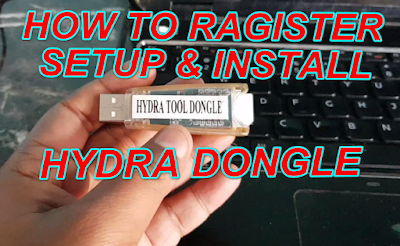 How To Register & Setup Install Hydra Dongle