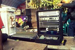 Urutan Susunan perangkat audio soundsystem lapangan