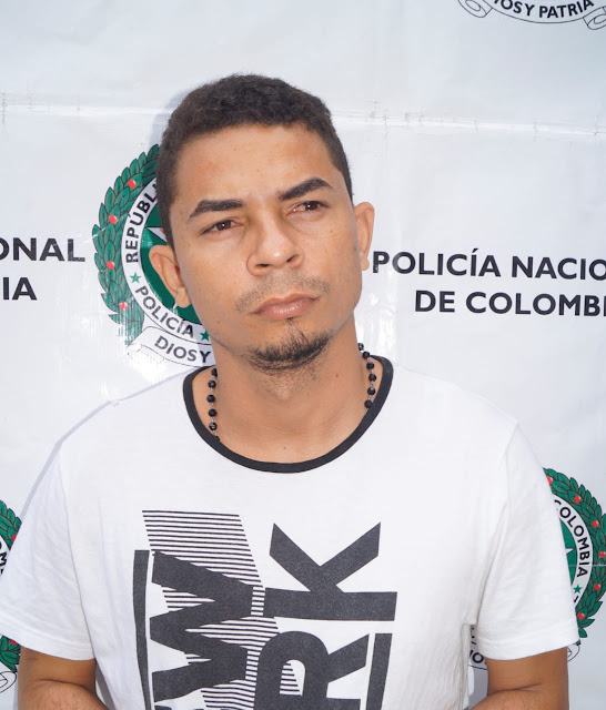 Capturado alias 'Alex´, implicado en el asesinato del electricista José Iguarán Galezo