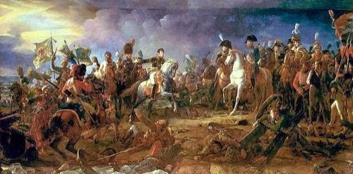 Napoleón en la Batalla de Austerlitz, por François Gérard