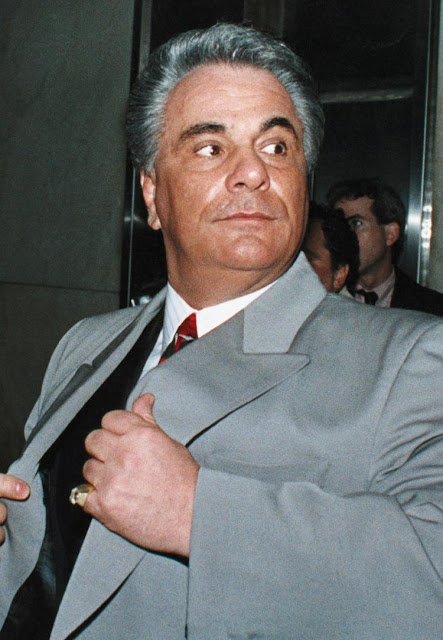 John Gotti kept nothing incriminating in his home while boss