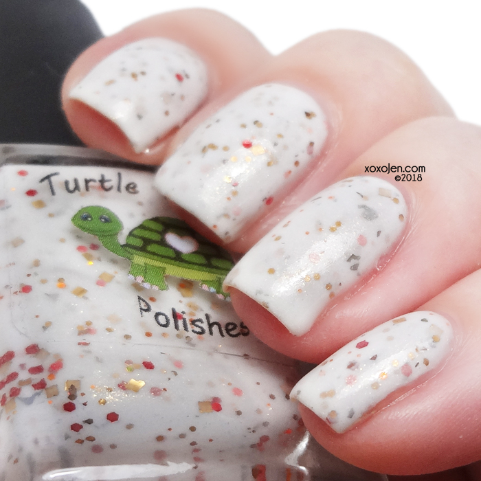 xoxoJen's swatch of Turtle Tootsie Let's Eat!