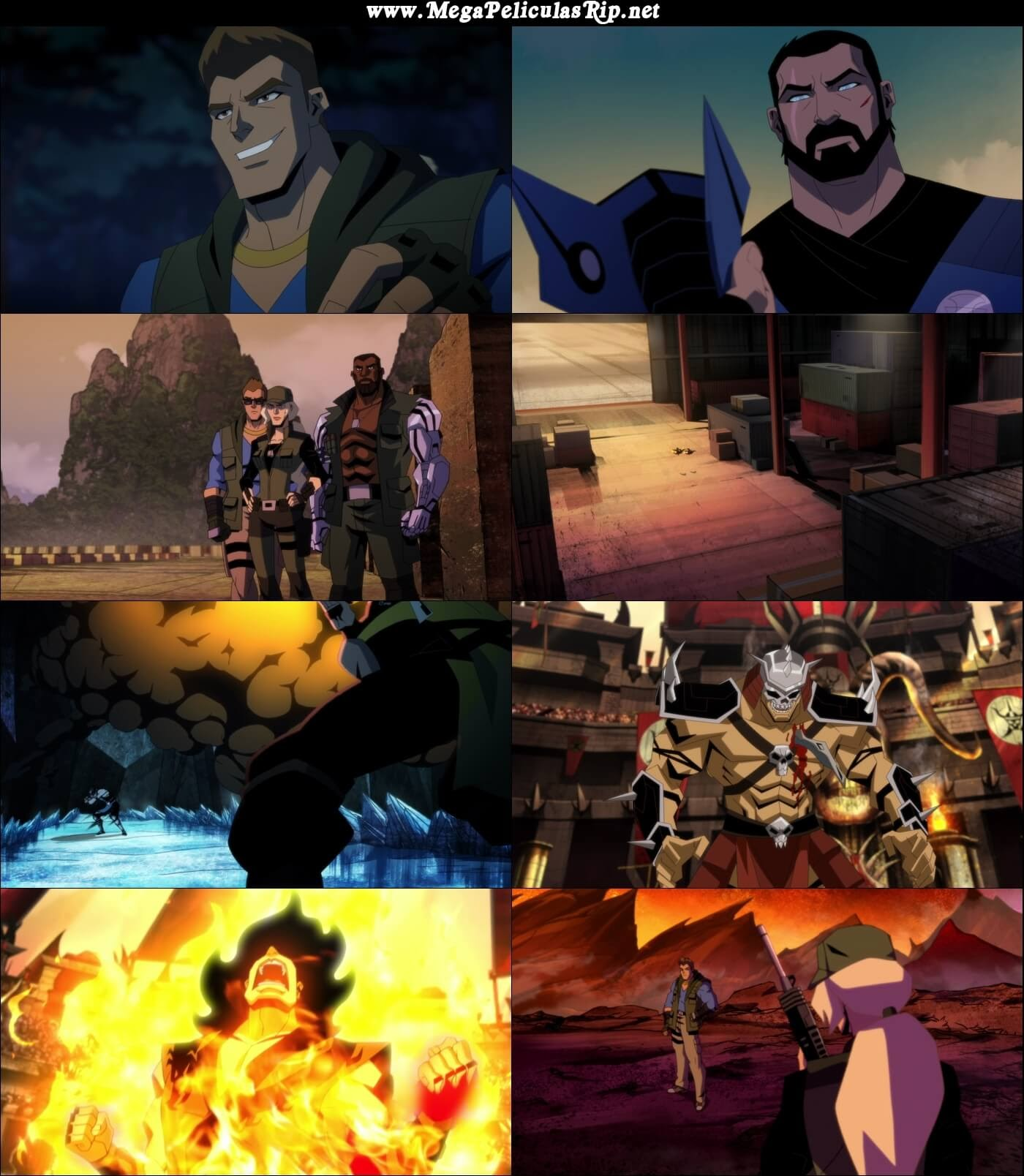 Mortal Kombat Legends Battle Of The Realms 1080p Latino