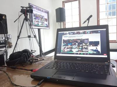 sewa tv dan laptop padang