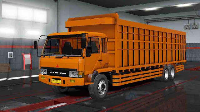 MOD FUSO FN 517  Euro Truck Simulator 2