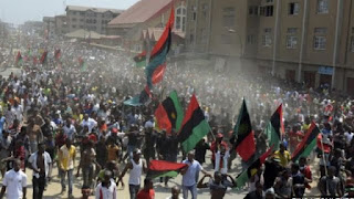 Police open fire on peaceful IPOB members