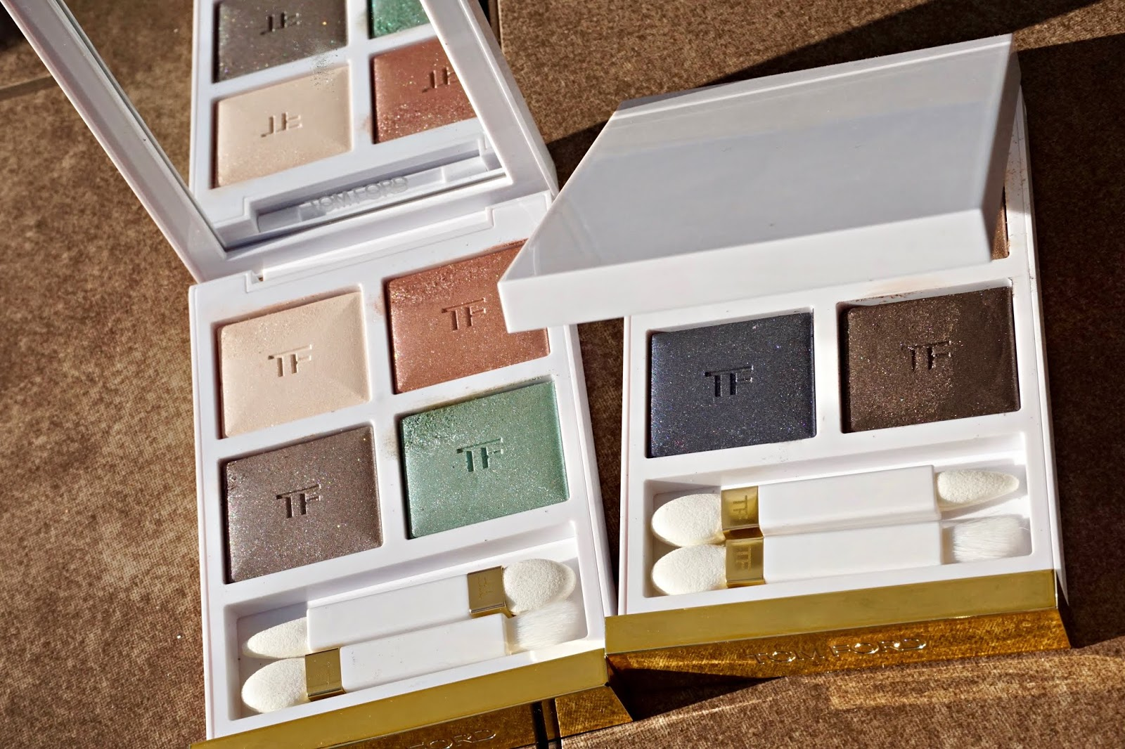 Tom Ford soleil neige swatches