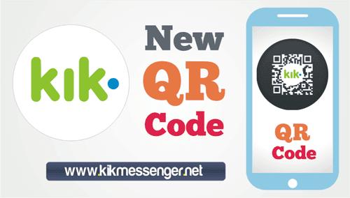 Nuevo Codigo QR en Kik para conectarte con usuarios y marcas