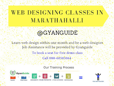 Web Designing Classes In Marathahalli