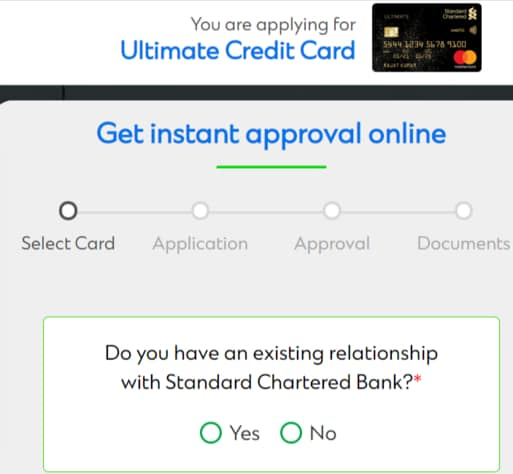 Standard Chartered Bank Ultimate Credit Card Apply