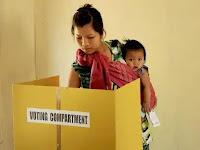 vote casting Mizoram