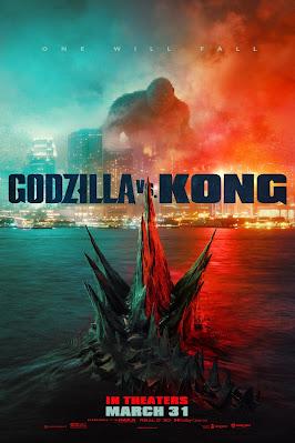 Póster película Godzilla vs. Kong - 2021