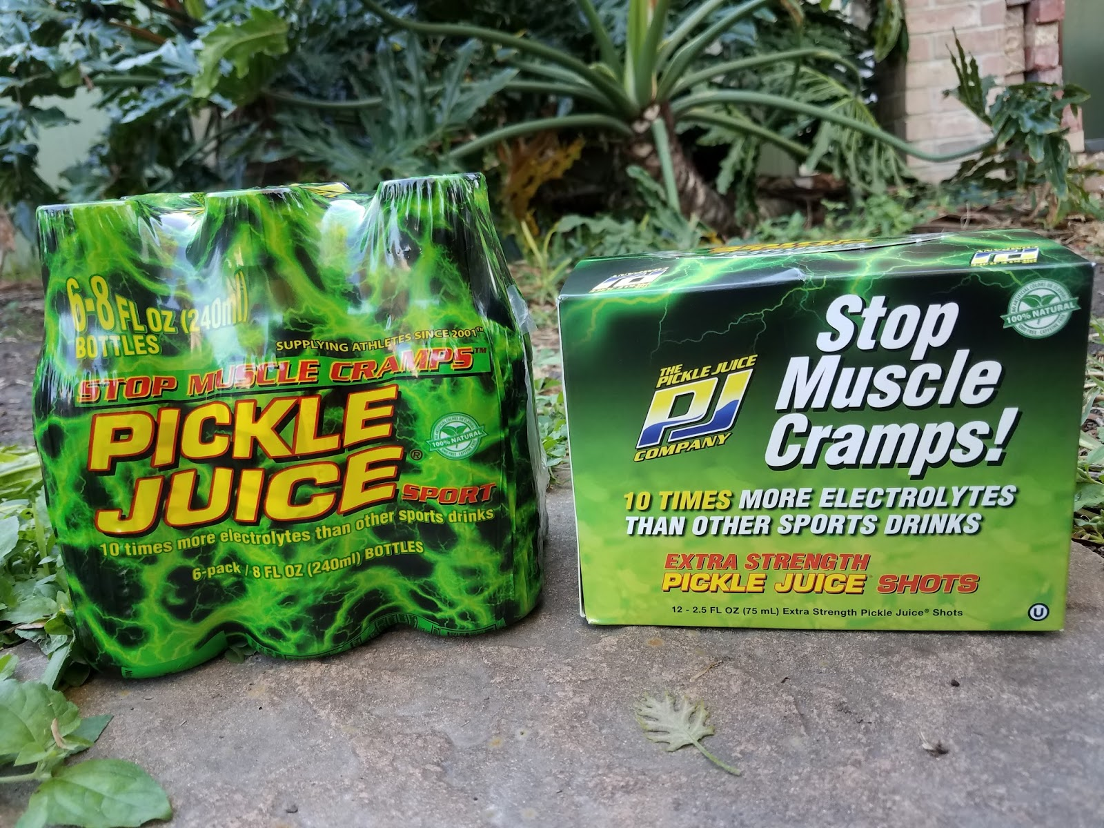the abcd diaries: stop muscle cramps with pickle juice sport drinks