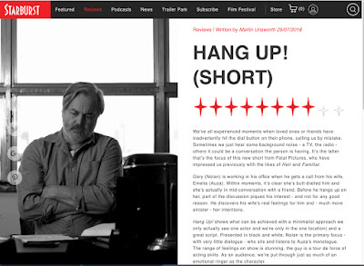 Click for HANG UP! Full Review by Starburst Magazine