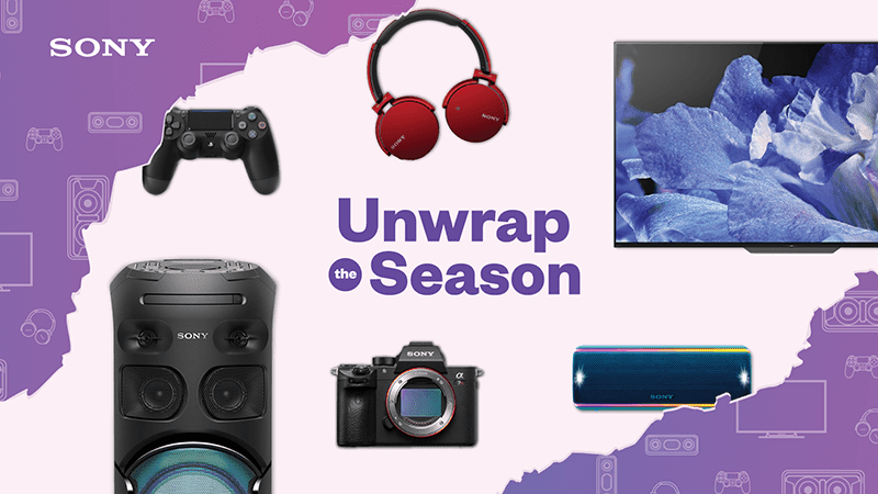 "Sony announces ""Unwrap the Season"" holiday promo"
