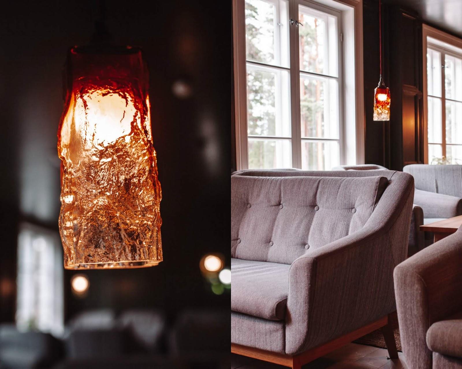 Lounge of Hotel Punkaharju