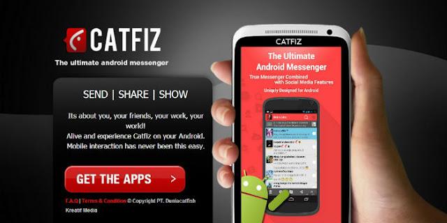 Chatfis,Aplikasi Chatting Lokal