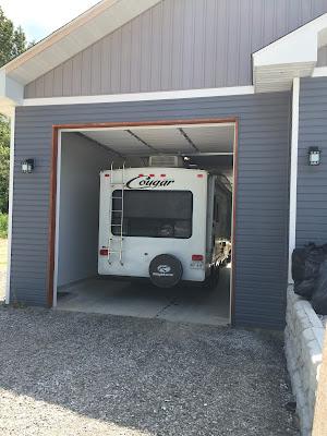 #millsnewhouse Camper garage