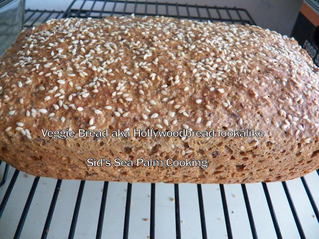 Veggie Bread aka Hollywoodbread style
