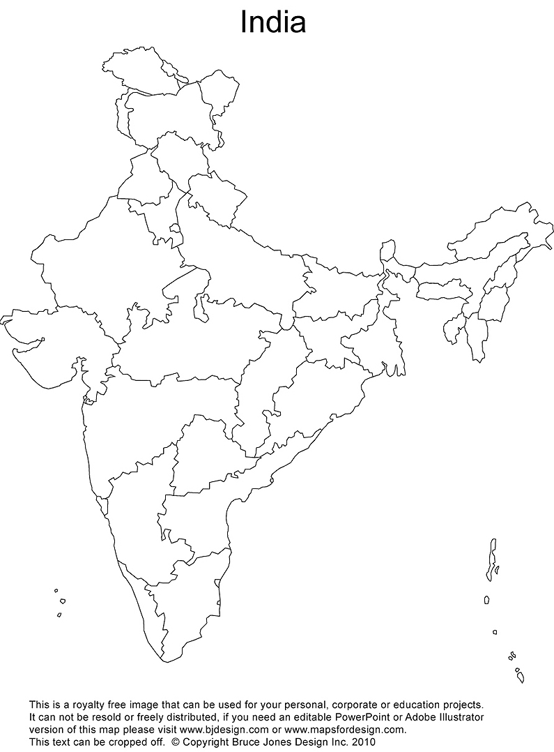Sly image for printable maps of india