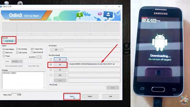 Cómo Rootear los Samsung Galaxy Ace 4 SM-G313ML y SM-G313U