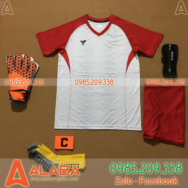 Áo Không Logo Fegan STA03 Jaris Màu Đỏ Trắng