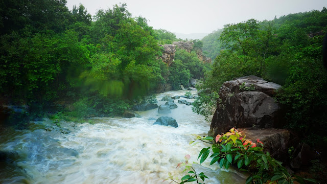 Gandahati Waterfall - best waterfall in Gajapati District
