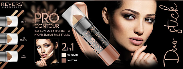 PRO CONTOUR DUO STICK 2in1 CONTOUR & HIGHLIGHTER