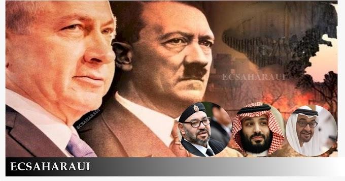 Palestina, Siria, Yemen, Sáhara Occidental, la sombra del sionismo.
