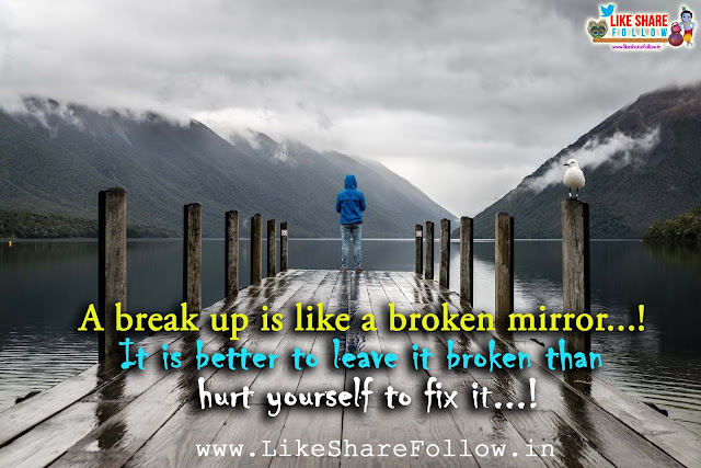 heart touching love failure quotes images