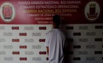 """Detienen a un """"espía"""" colombiano en Táchira"""