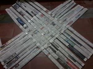 Peluang Kerajinan Koran Bekas jadi Perhatian Bupati Eka
