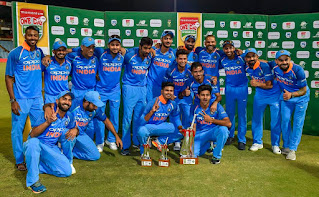 India tour of South Africa 6-Match ODI Series 2018